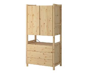 Ikea Ivar Storage Unit/Cabinet w/ Chest