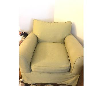 HomeGoods Fabric Accent Chair