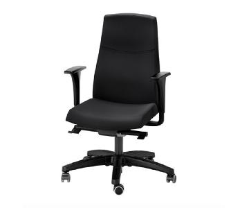 Ikea Volmar Swivel Chair w/ Arm Rests