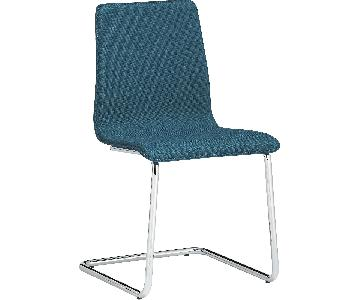 CB2 Tweed Dining Chairs