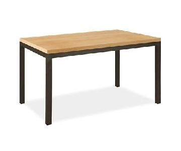 Room & Board Parsons Maple Desk