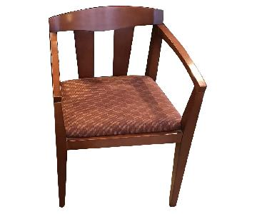 Wood Upholstered Office Chairs