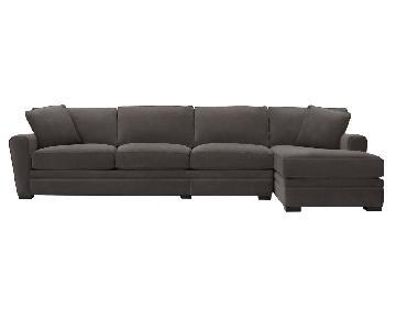 Raymour & Flanigan Artemis 2 Piece Sectional Sofa