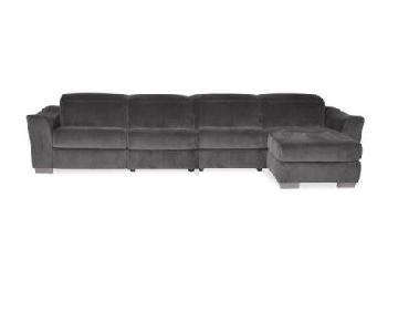 Macy's Alessandro 4-Piece Sectional Sofa