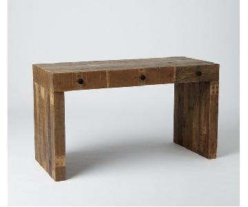 West Elm Emmerson Reclaimed Wood Desk