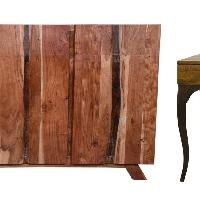 Baxter Sideboard & Melange Side Table-Combo Set