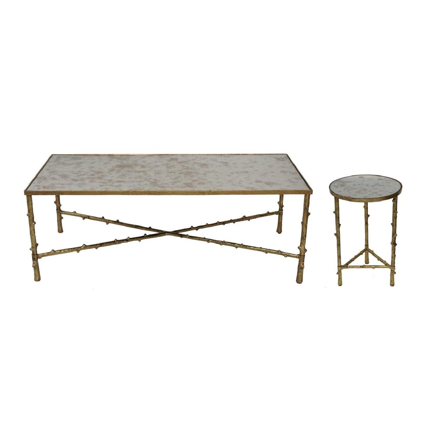 Glostrup Coffee Table + Side Table