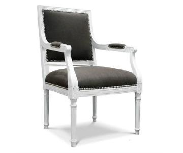 Jonathan Adler Brown Louis Armchair