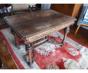 Wood Table/Writing Desk