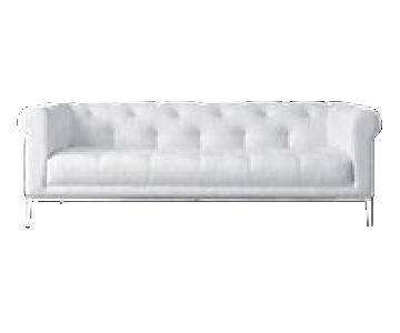 Restoration Hardware Modern Chesterfield Italia Sofa
