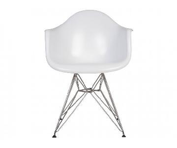 White Eames Eiffel Replica Chairs