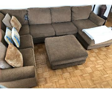Ashley Wilcot 4-Piece Sectional Sofa