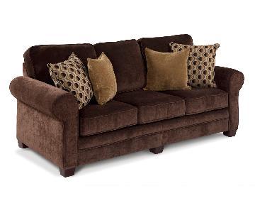 Bob's Maggie II Sofa + Chair & Storage Ottoman