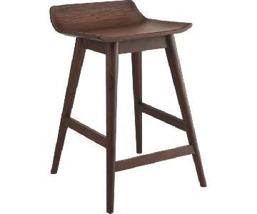 CB2 Wainscott Wood Counter Stools