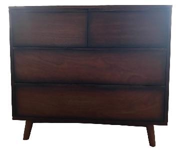 Mid-Century Modern 4-Drawer Dresser