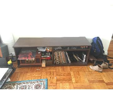 Ikea Wood Media Storage