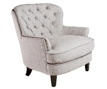 Home Loft Concept Jerome Tufted Arm Chair