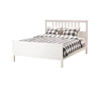 Ikea Hemnes White Full Bed Frame