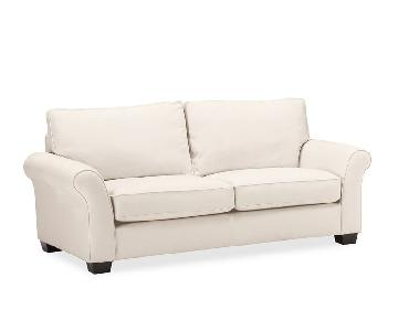 Pottery Barn PB Comfort Roll Arm Upholstered Sofa
