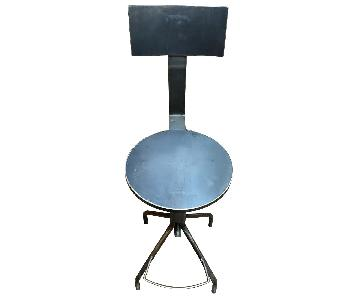 ABC Carpet and Home Adjustable Steel Bar Stools