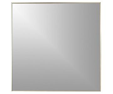 CB2 Infinity Mirror w/ Silver Frame