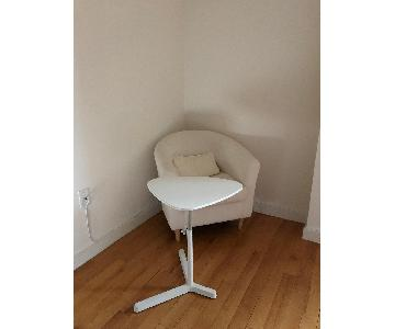 Ikea Tullsta Armchair in White