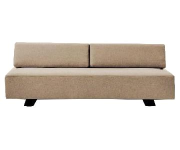 West Elm Beige Tillary Sofa