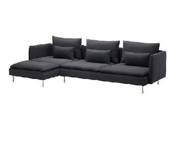 Ikea Soderhamn 4 Seat Sectional Sofa