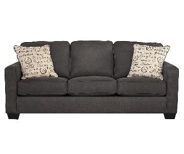 Ashley Alenya Sofa in Charcoal