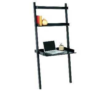 Leaning Bookshelf w/ Desk