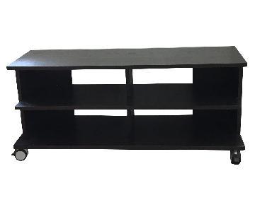 TV Stand w/ Media Storage Unit