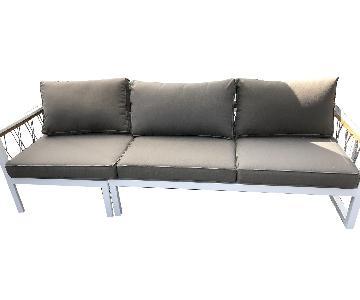 Outdoor Metal Sofa
