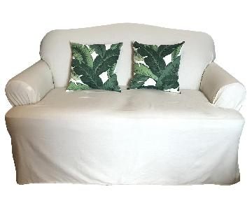 La-Z-Boy Slipcovered Loveseat