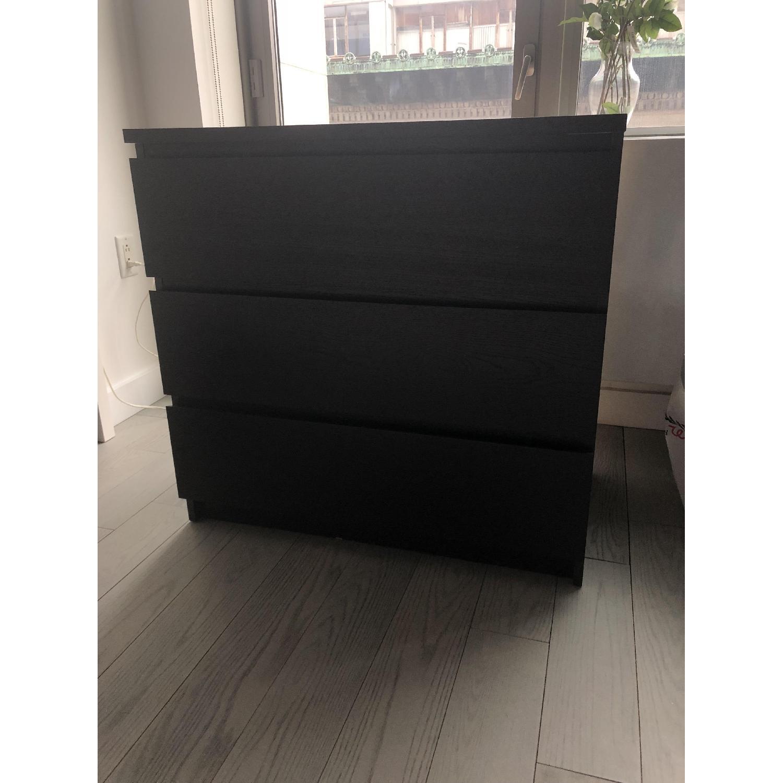 Ikea Malm 3 Drawer Dresser AptDeco