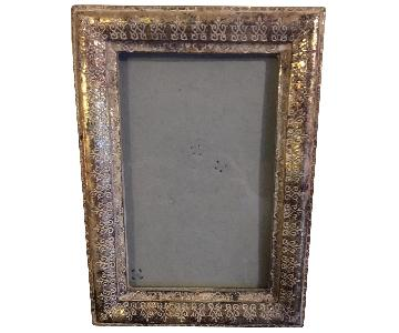 Gold Rustic Picture Frame