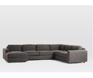 West Elm Urban 4-Piece Sectional Sofa