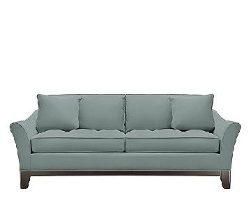 Rory Microfiber Queen Sleeper Sofa in Hydra