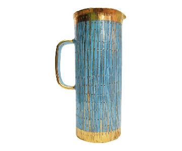 Aldo Londi for Bitossi Mid Century Ceramic Pitcher