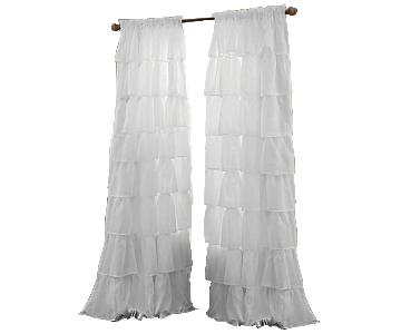 Bed Bath & Beyond Window Curtain Panel in White