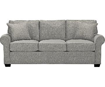Rooms To Go Grey 3 Seater Sofa