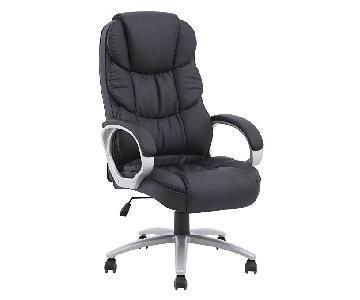 BestOffice Ergonomic PU Leather High Back Office Chair