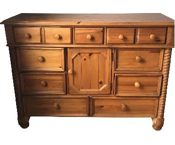 Vintage Wooden Dresser