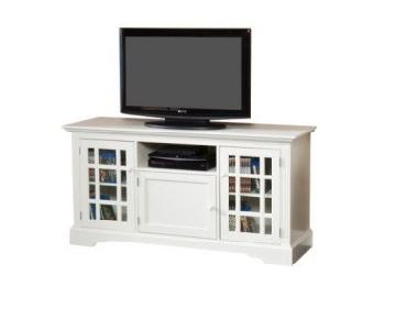 Hokku Designs Off-White TV Stand
