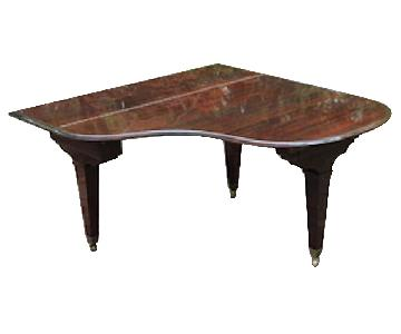 Antique Piano Dining Table