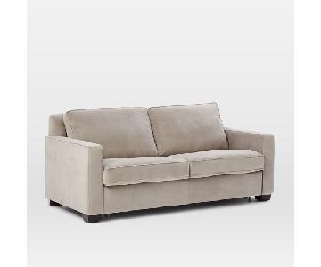 West Elm Henry Grey Sleeper Sofa