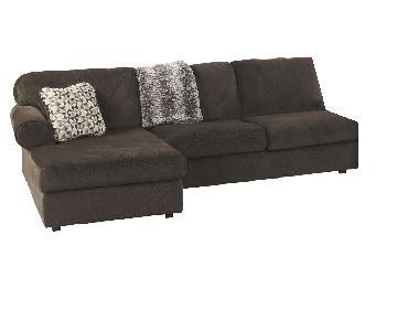 Ashley Signature Design 2 Piece Microfiber Sectional Sofa