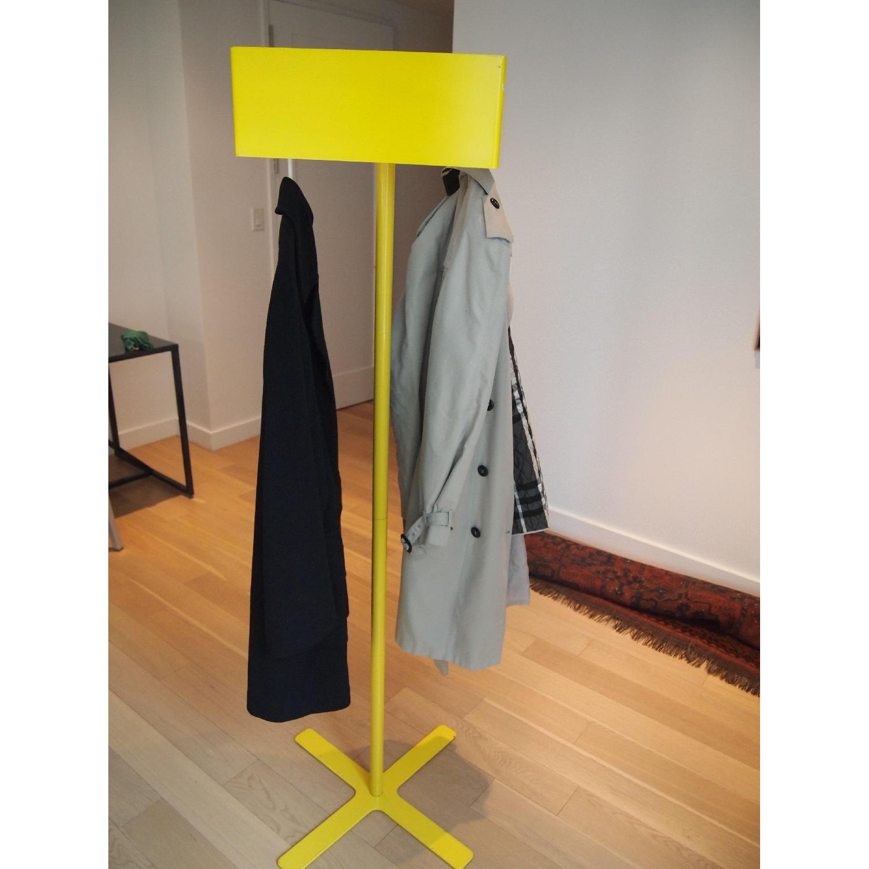 CB2 Coat Rack in Yellow - image-1