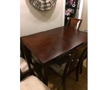 Jennifer Leather Dining Room Table