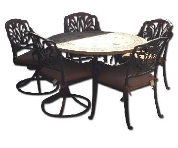 9 Piece Patio Furniture Set
