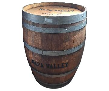 Napa Valley Wine Barrel